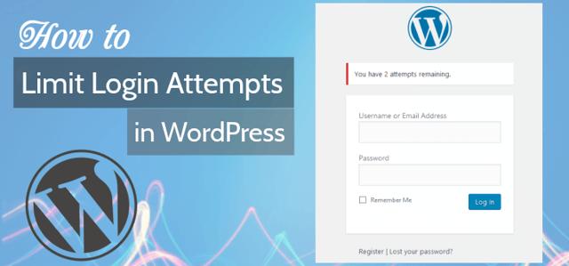 Limit Login Attempts in WordPress