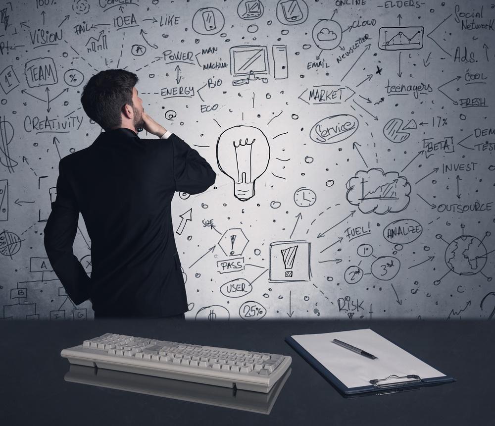 Worker Brainstorming