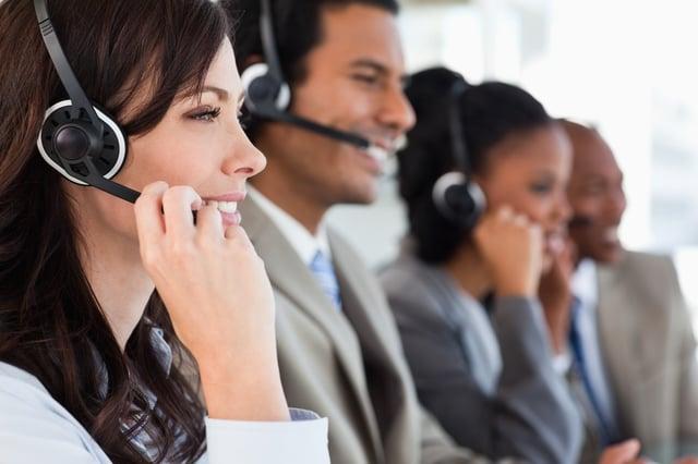 Sales Team Making Calls