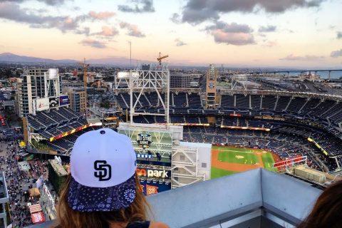 San Diego California Padres Petco Park Stadium Altitude Sky Lounge