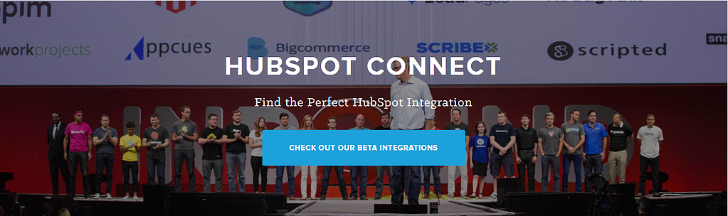 HubSpot Integration Banner