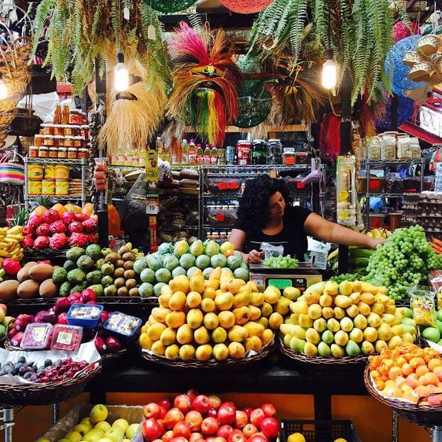 Mercado Miguel Hidalgo Tijuana Baja California Mexico San Diego Travel