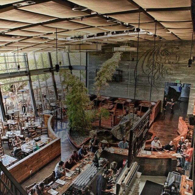 San Diego California Stone Brewery Interior