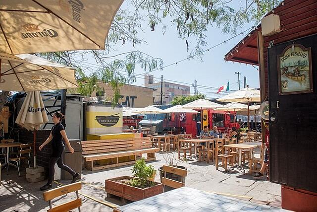 Telefonica Gastro Park Tijuana Baja California Mexico Travel
