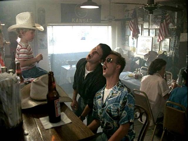 San Diego California Top Gun Movie Bar Scene Tom Cruise