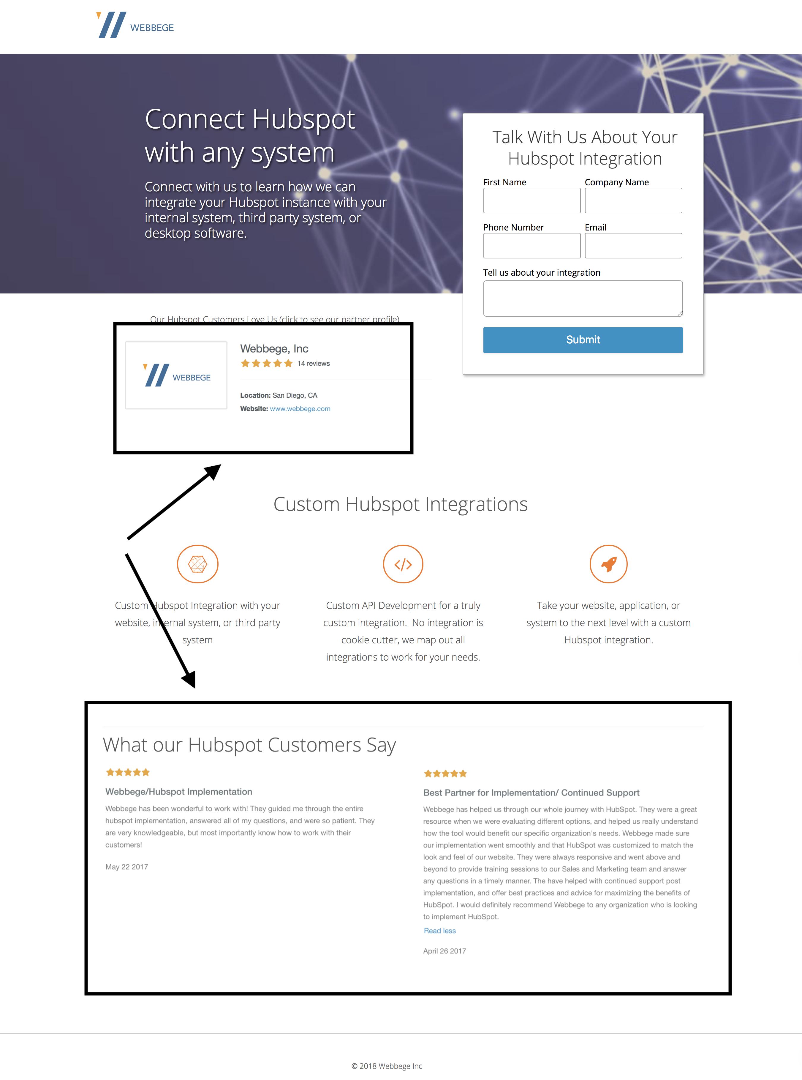 Custom Hubspot Integration API Development
